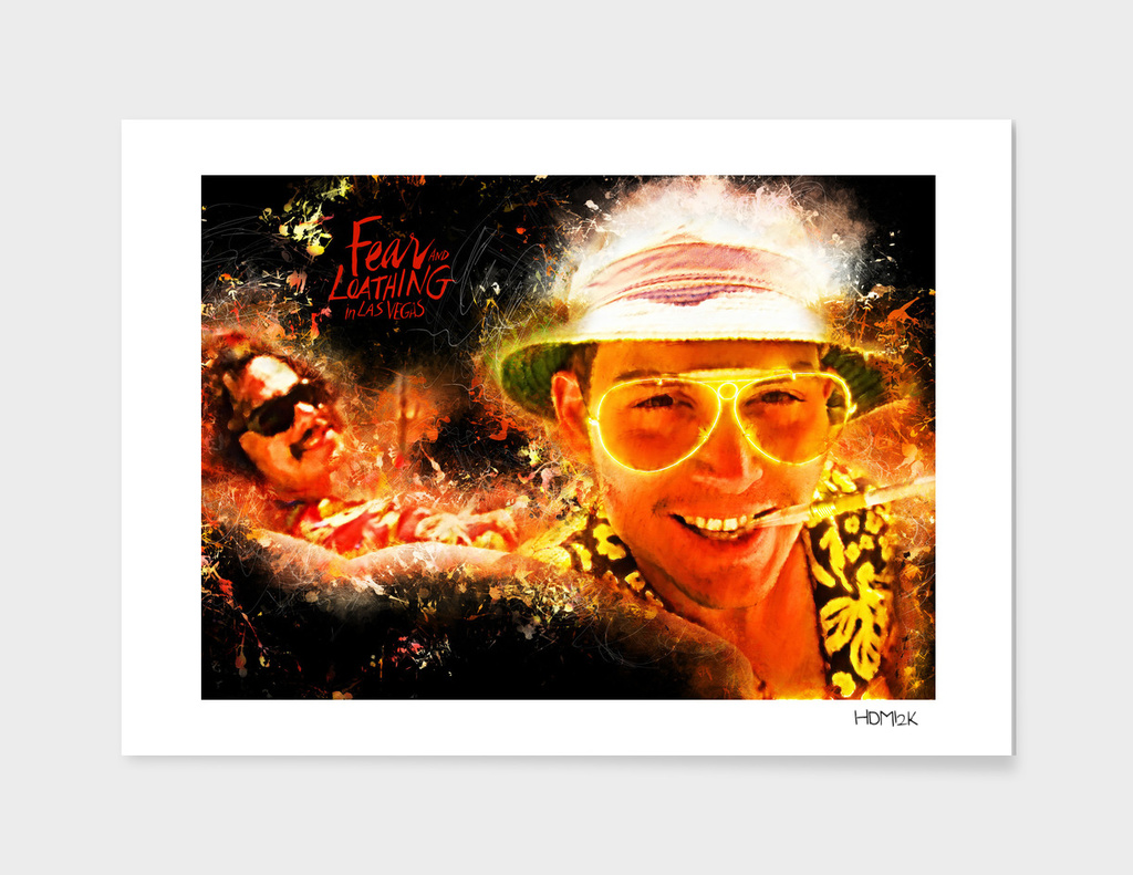 Fear and Loathing in Las Vegas - Alternative Movie Poster