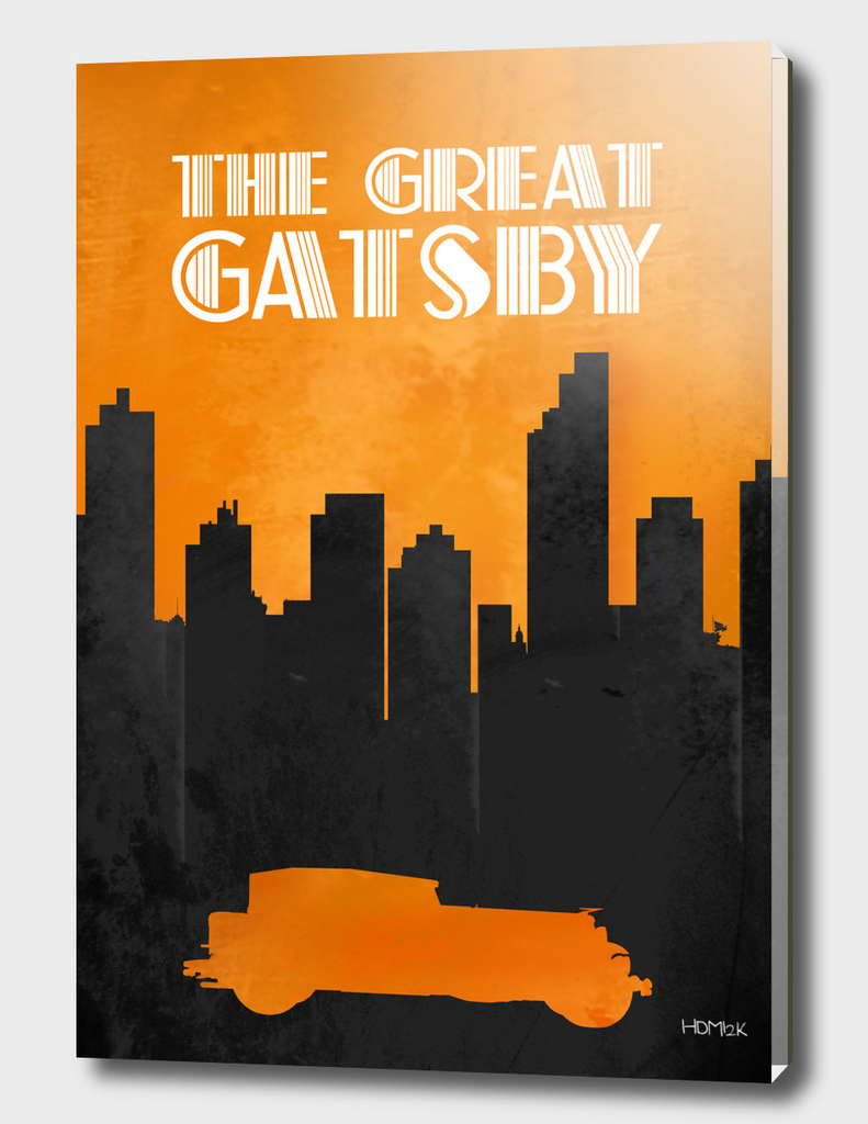 The Great Gatsby - Minimal Movie Poster Alternative