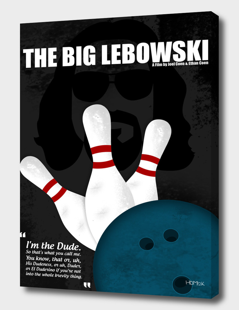 The Big Lebowski - Minimal Movie Poster