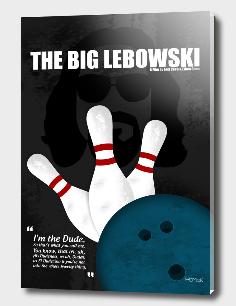 The Big Lebowski - Minimal Movie Poster