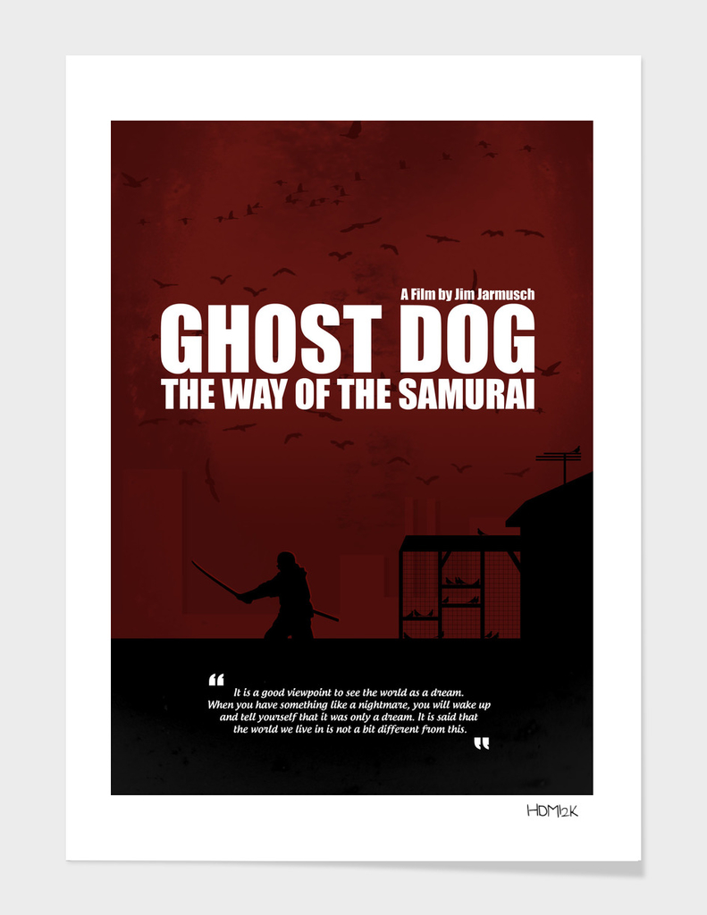 Ghost Dog - The Way of the Samurai - Poster Alternative