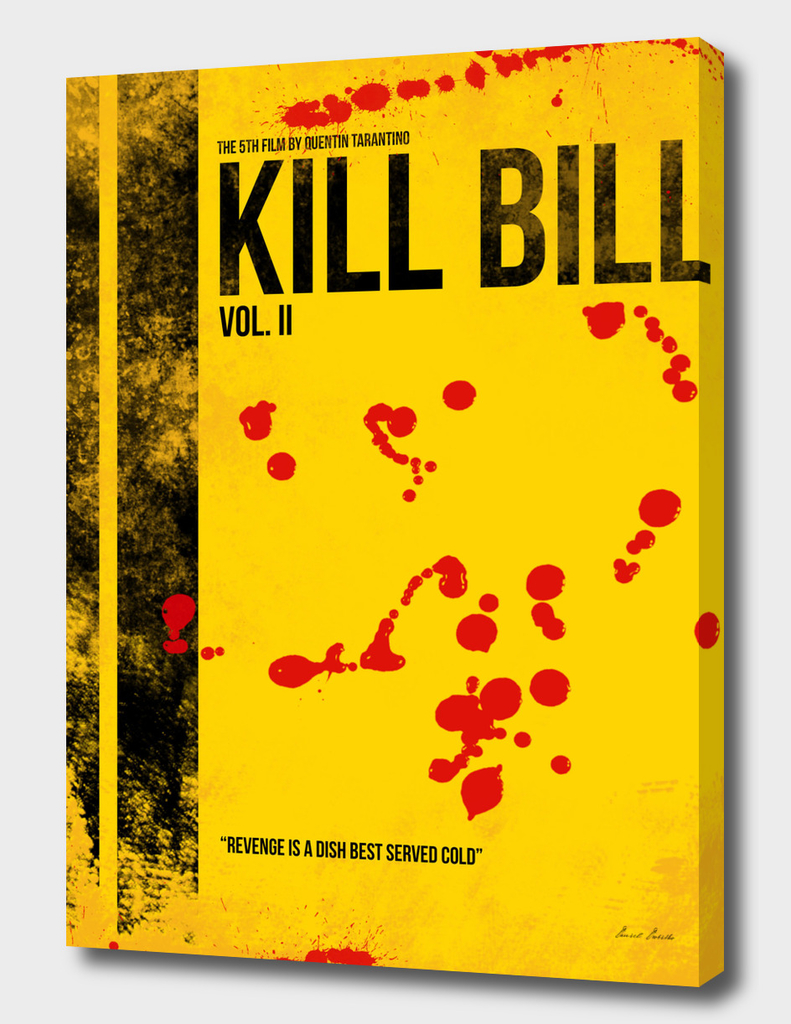 Kill Bill - Vol. II minimal movie poster alternative