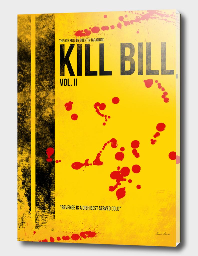 Kill Bill - Vol. II minimal movie poster alternative