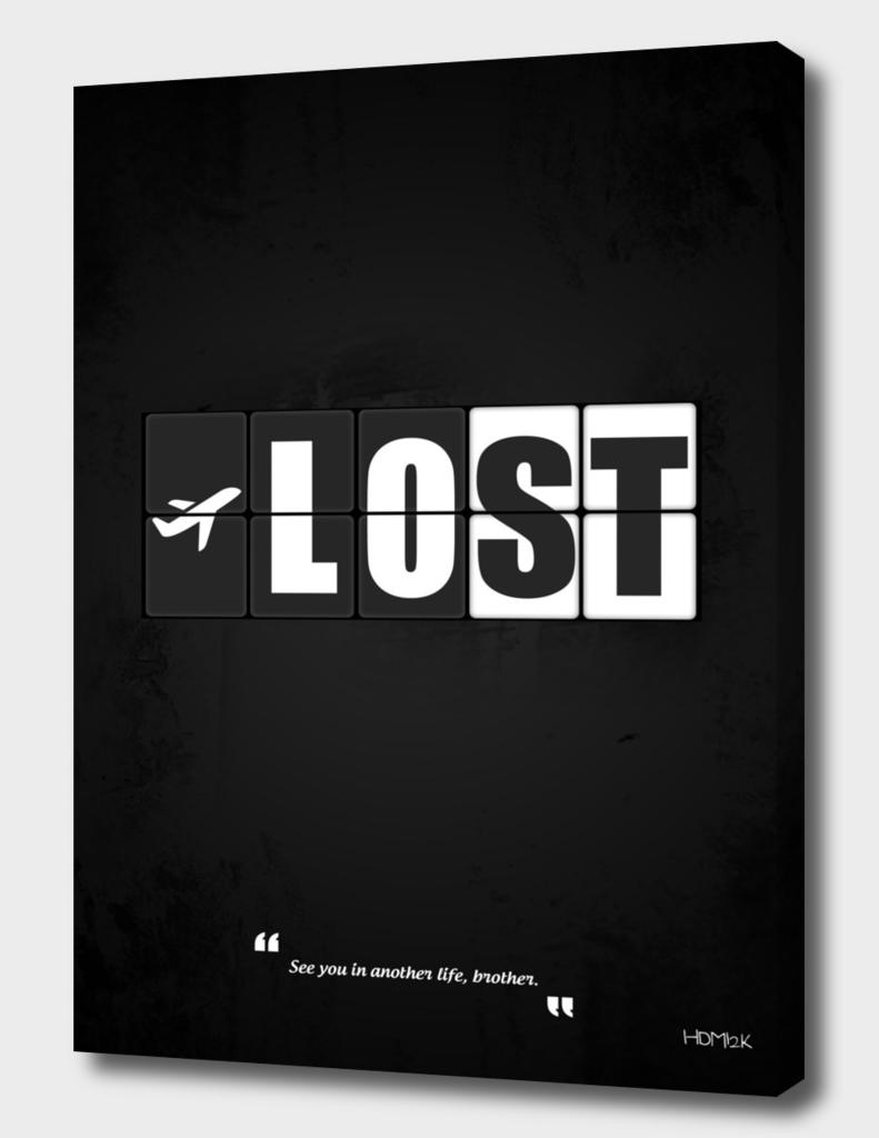 Lost - Minimal TV Series Poster Alternative