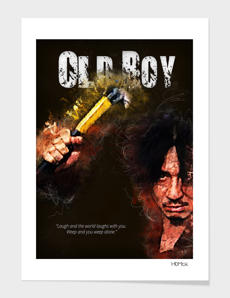 Oldboy - alternative art poster