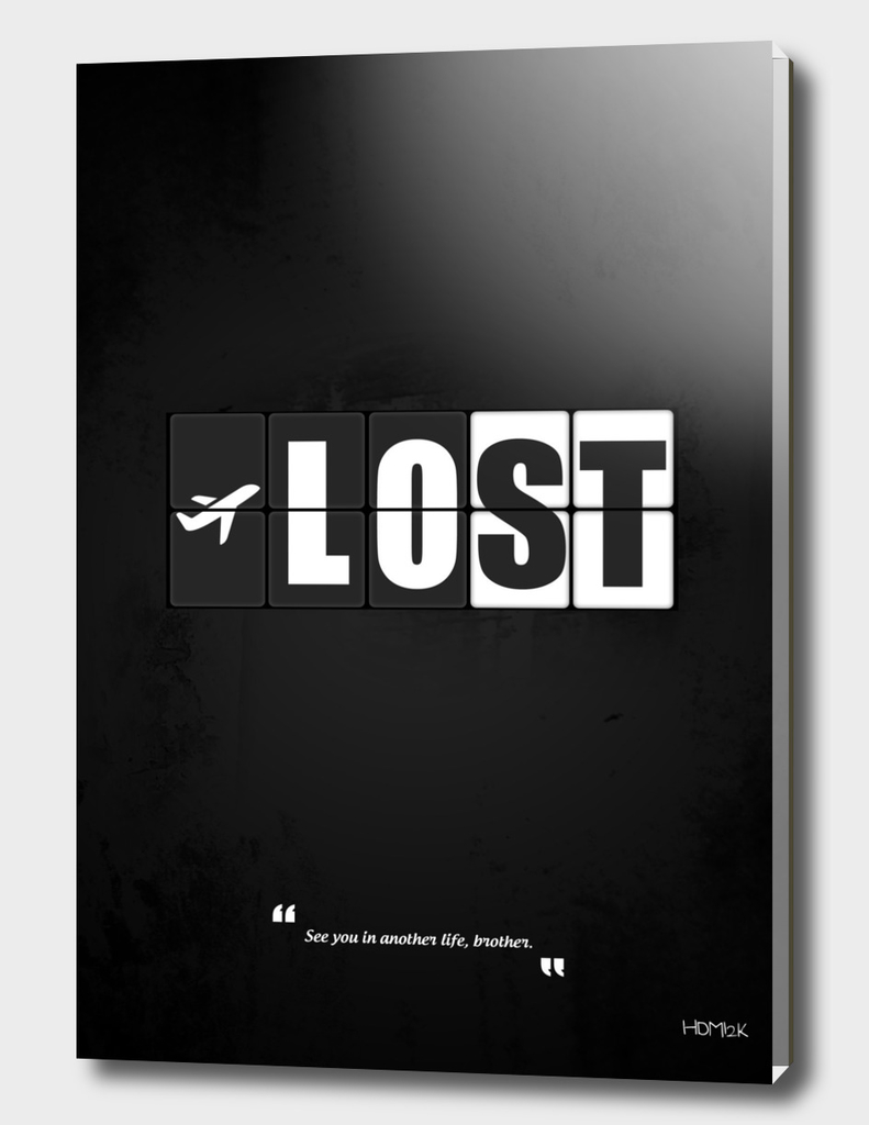 Lost - Minimal TV Series Poster Alternative