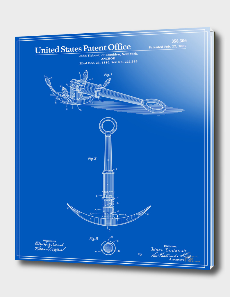 Anchor Patent - Blueprint