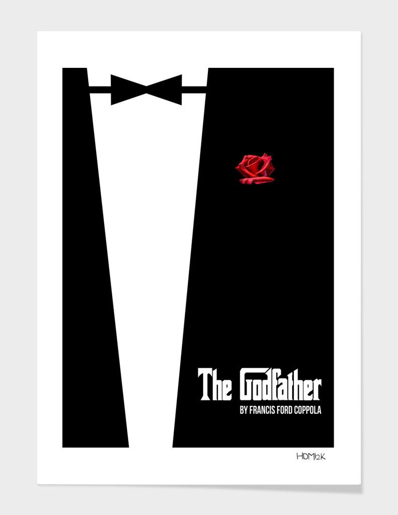 Godfather - minimal fanart alternative movie poster