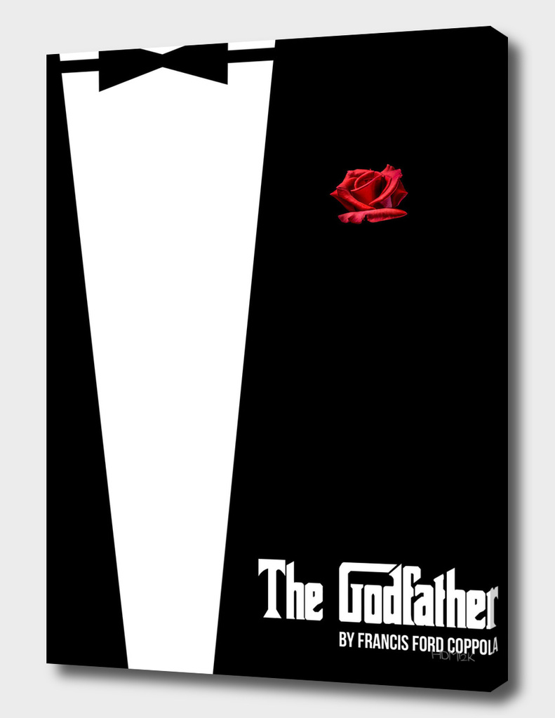 Godfather - minimal fanart alternative movie poster