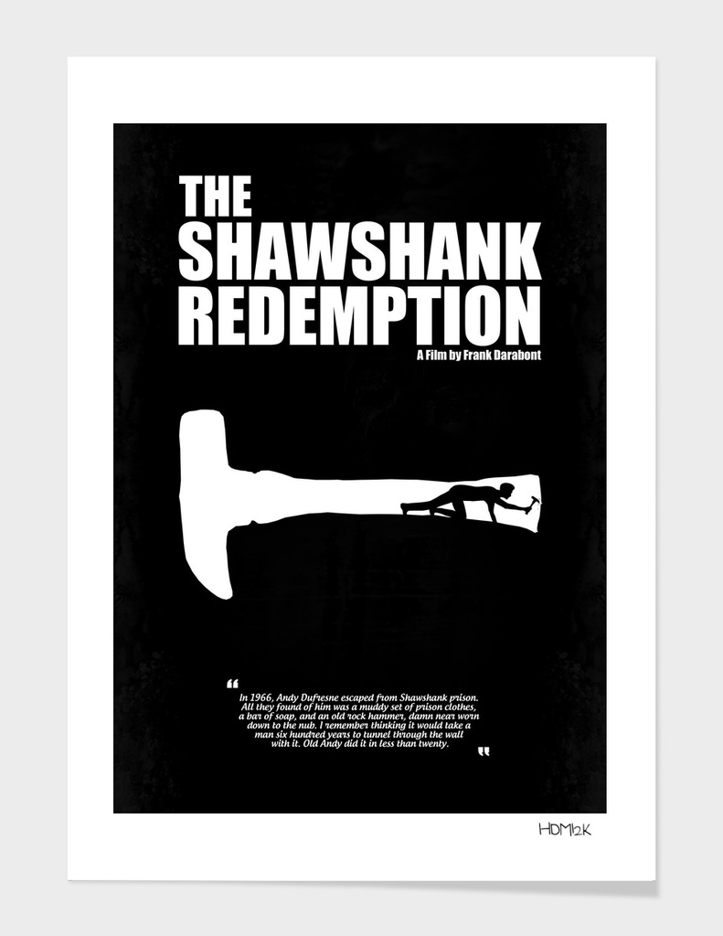 The Shawshank Redemption - A Minimal Movie Poster.