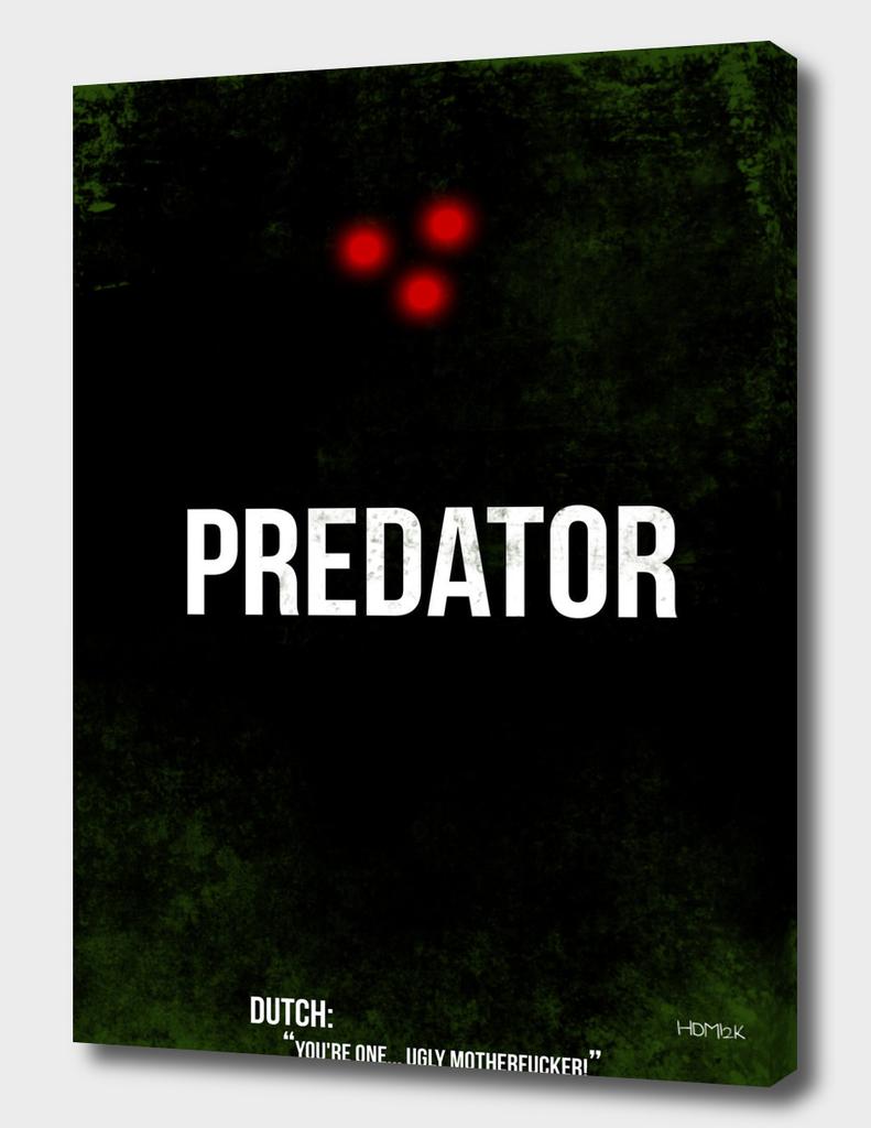 Predator - minimal movie poster alternative