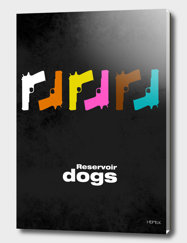 Reservoir Dogs - minimal movie poster - #2