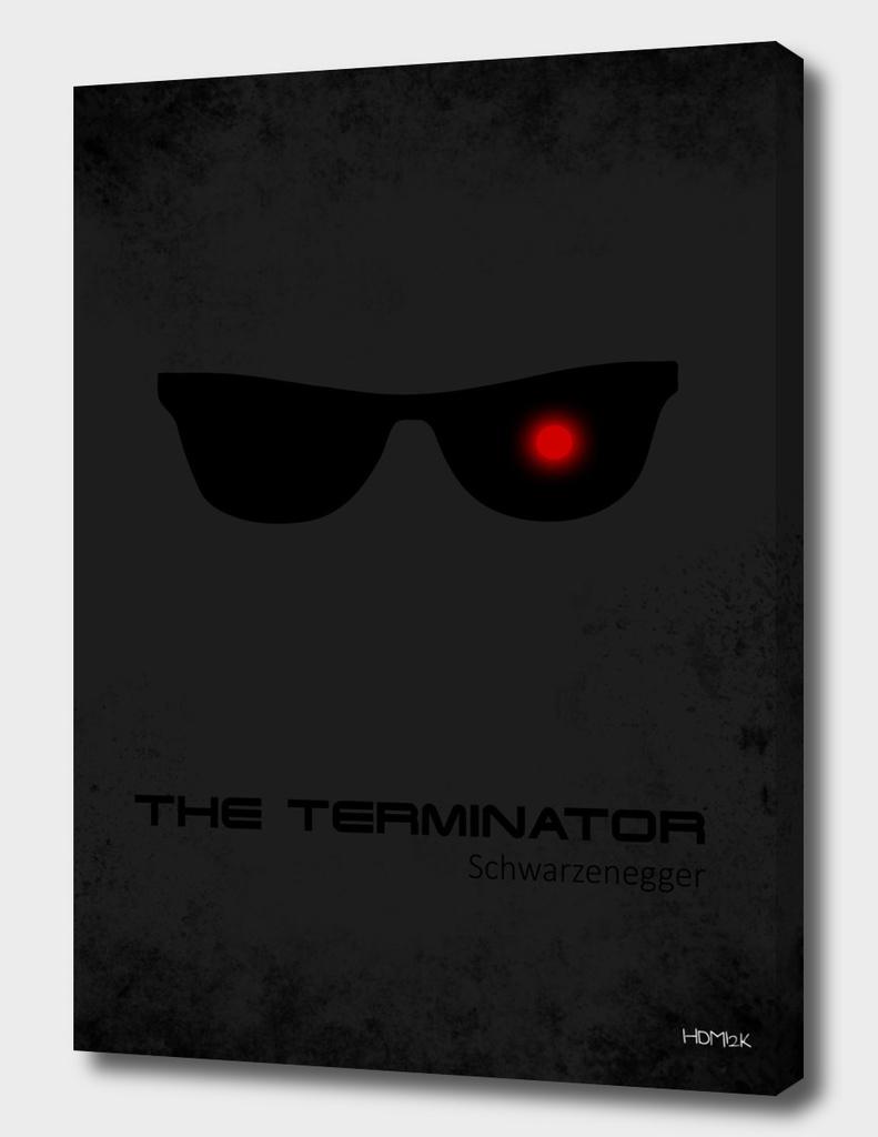 Terminator - minimal movie poster alternative