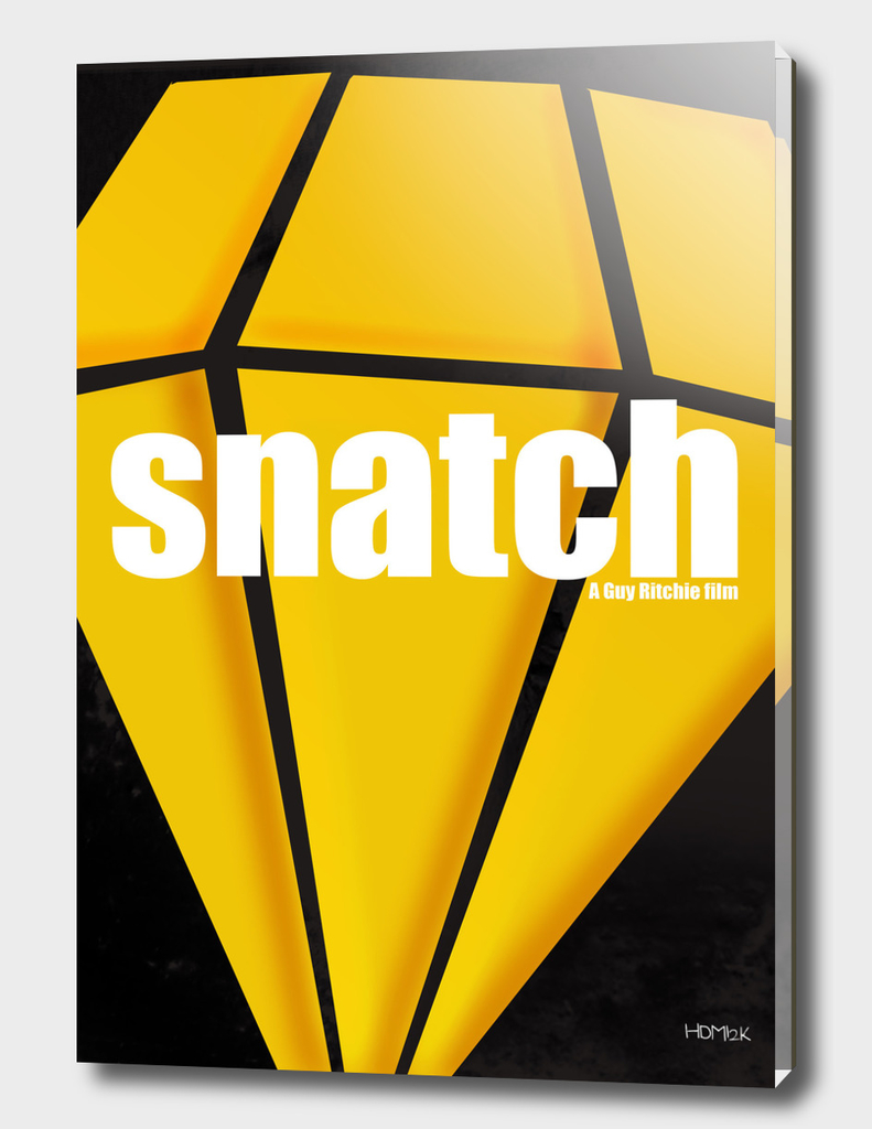 Snatch. Minimal Movie Poster - A Guy Ritchie Film.