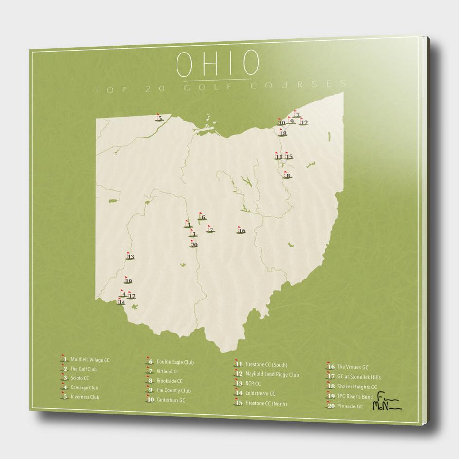 Ohio Golf Courses