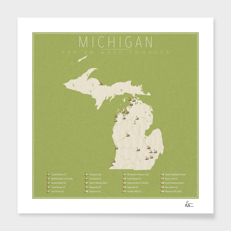 Michigan Golf Courses