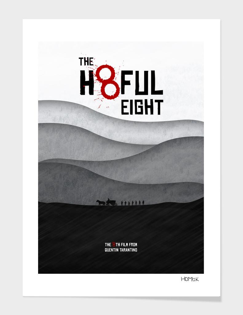 The Hateful Eight - Minimal alternative Movie Poster.