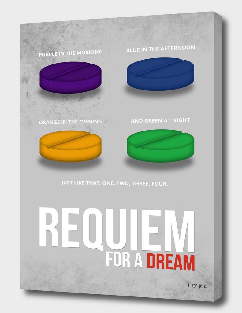 Requiem for a Dream - Minimal Movie Poster alternative