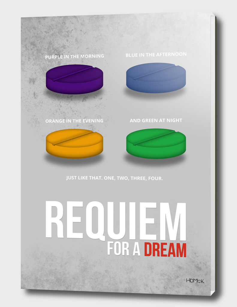 Requiem for a Dream - Minimal Movie Poster alternative