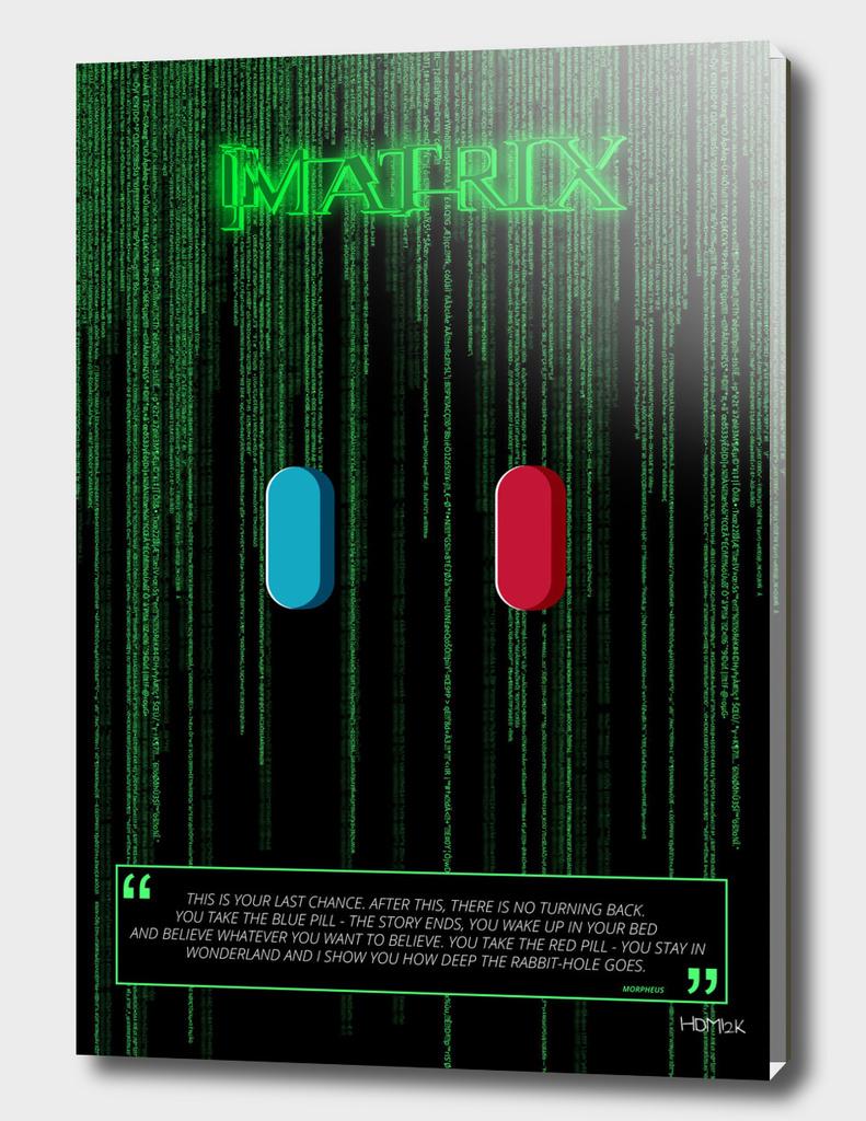 Matrix - Minimal Movie Poster alternative #2