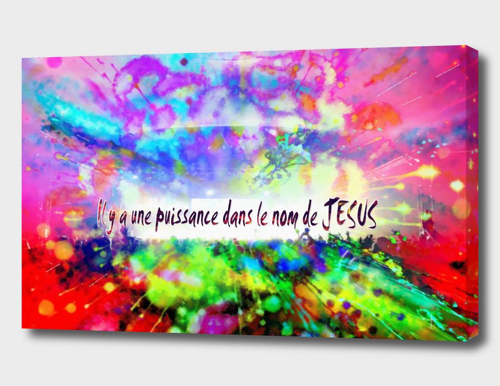 Il y a une puissance dans le nom de JESUS