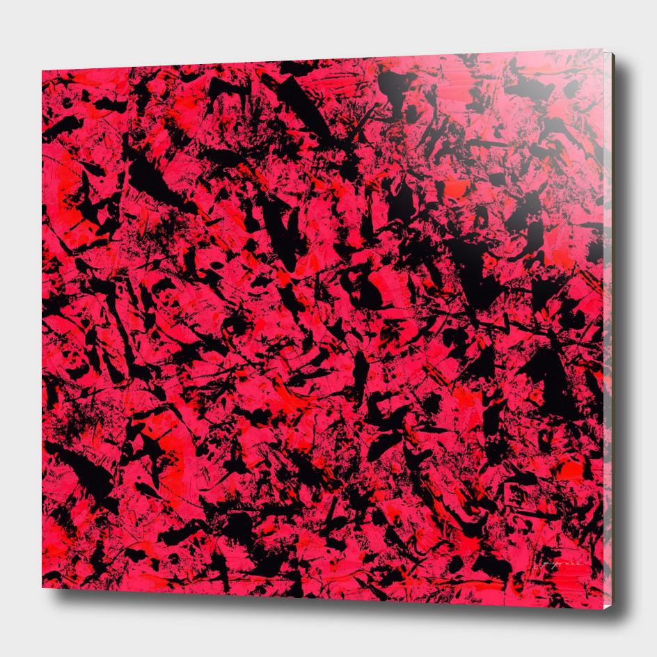 graffiti red