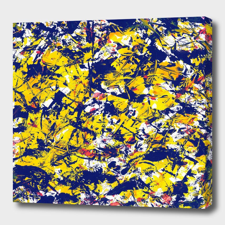 graffiti 2 blue square