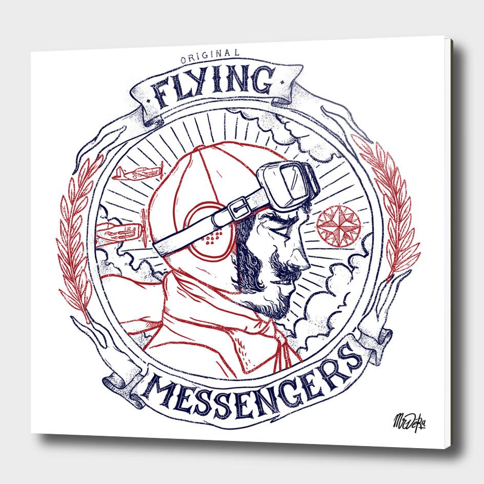 ORIGINAL FLYING MESSENGERS AVIATOR