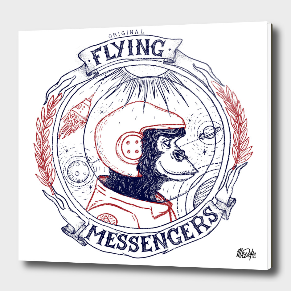 ORIGINAL FLYING MESSENGERS MONKEY