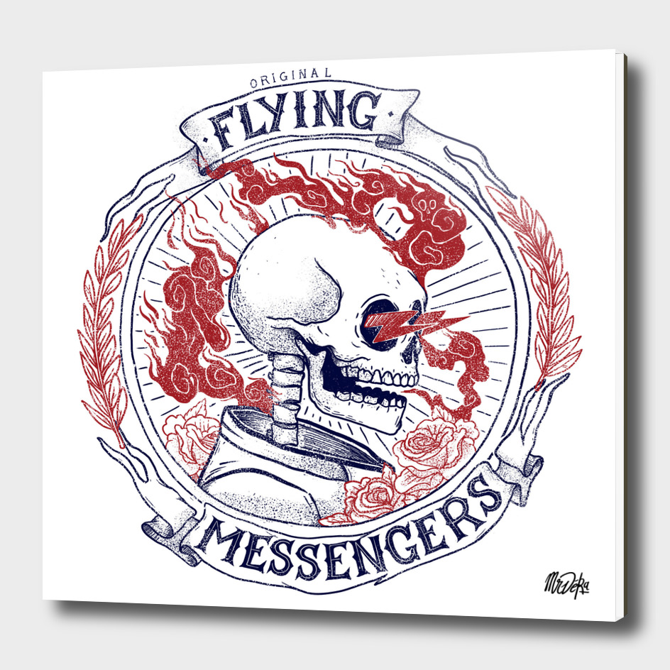 ORIGINAL FLYING MESSENGERS DEATH