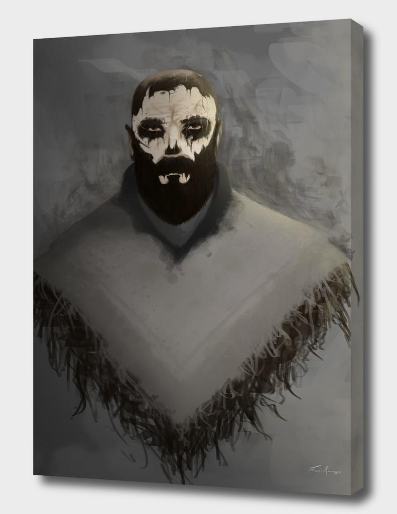 SkullPaint Warrior