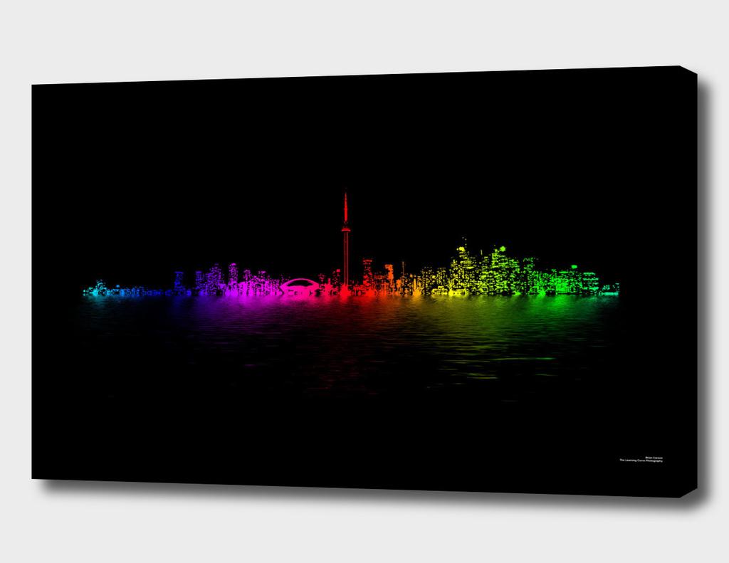 Toronto Rainbow Reflection