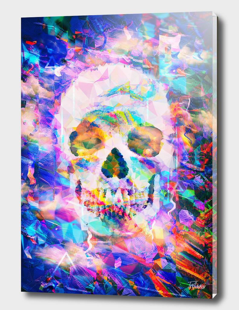Artistic LXXV - Dope poly glitch skull / LE