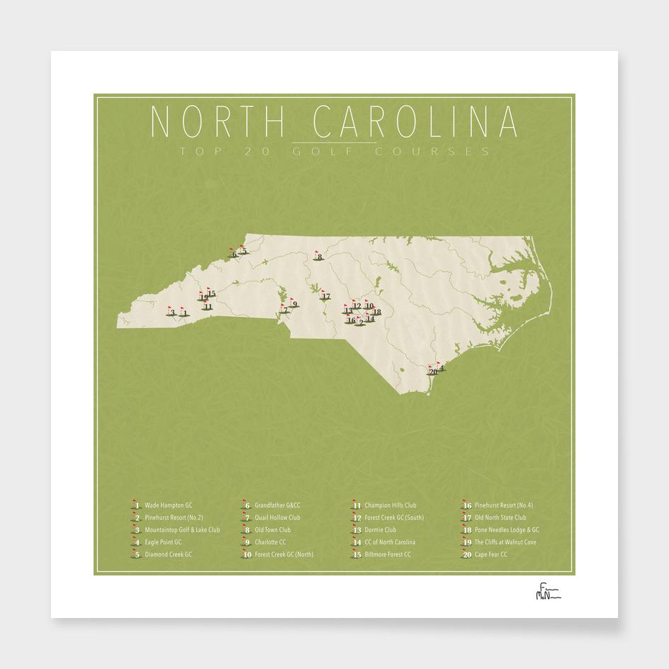 North Carolina Golf Courses
