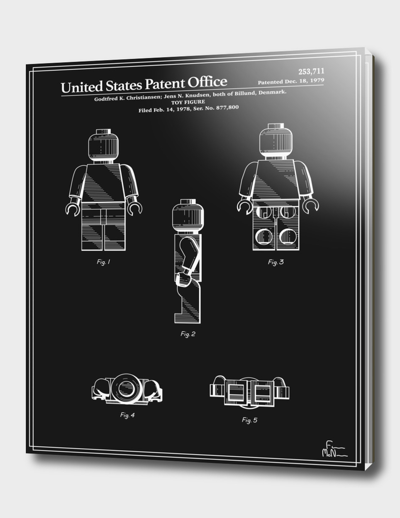 Toy Figure Patent v2 - Black