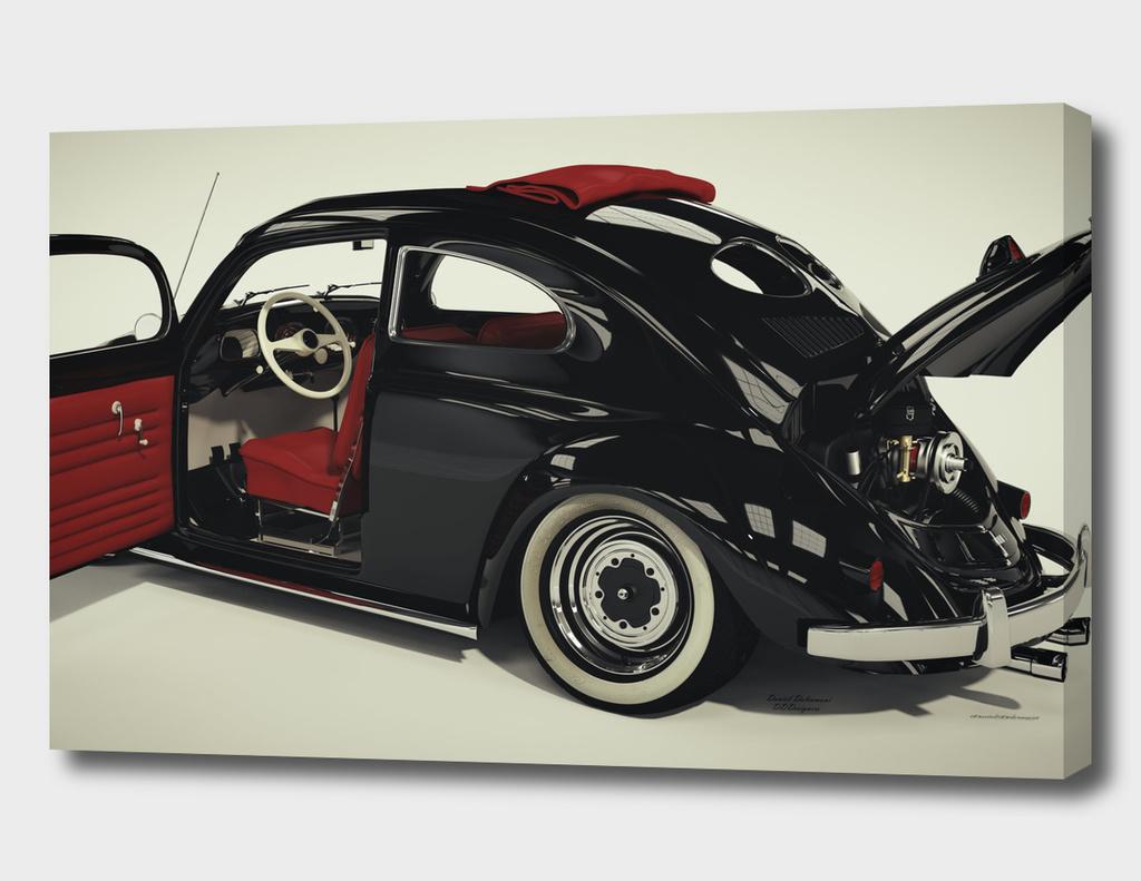 VW Beetle 52 Custom Rag Top