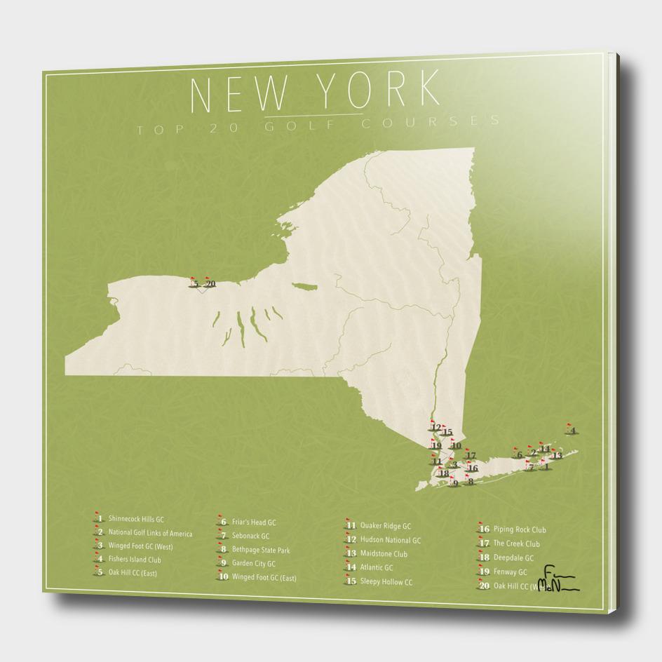 New York Golf Courses