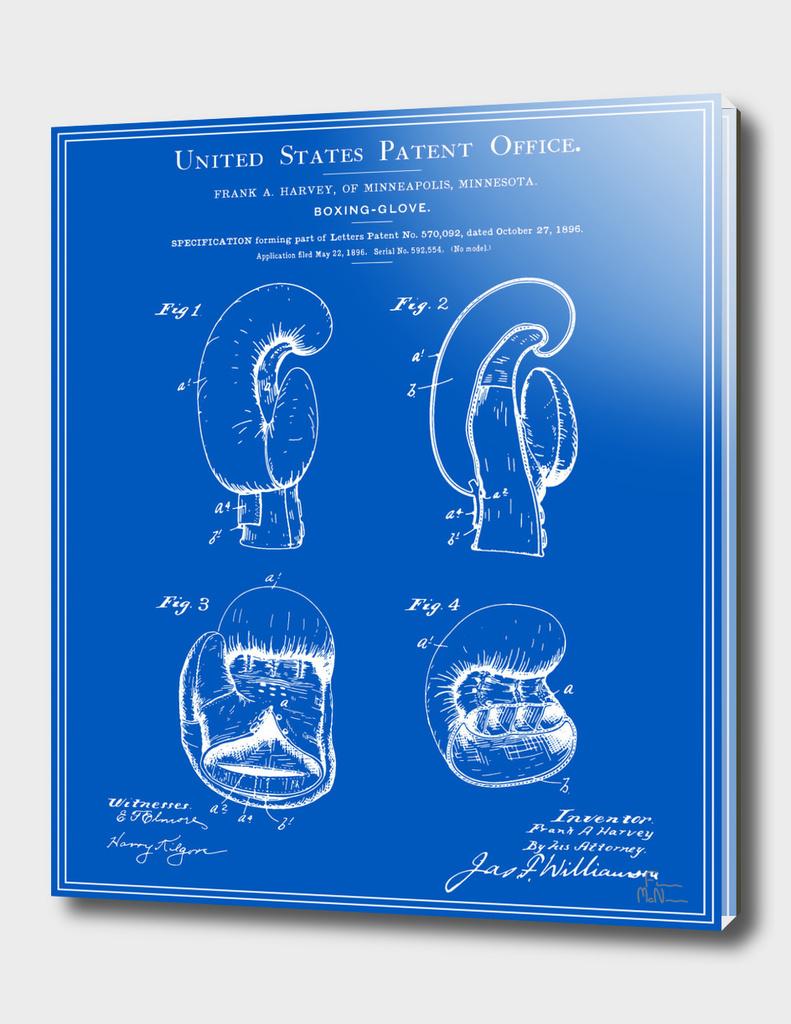 Boxing Glove Patent - Blueprint