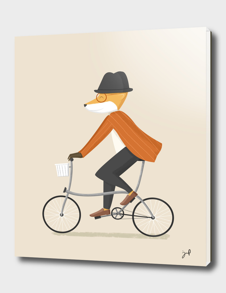 Mr. Fox Is On His Way