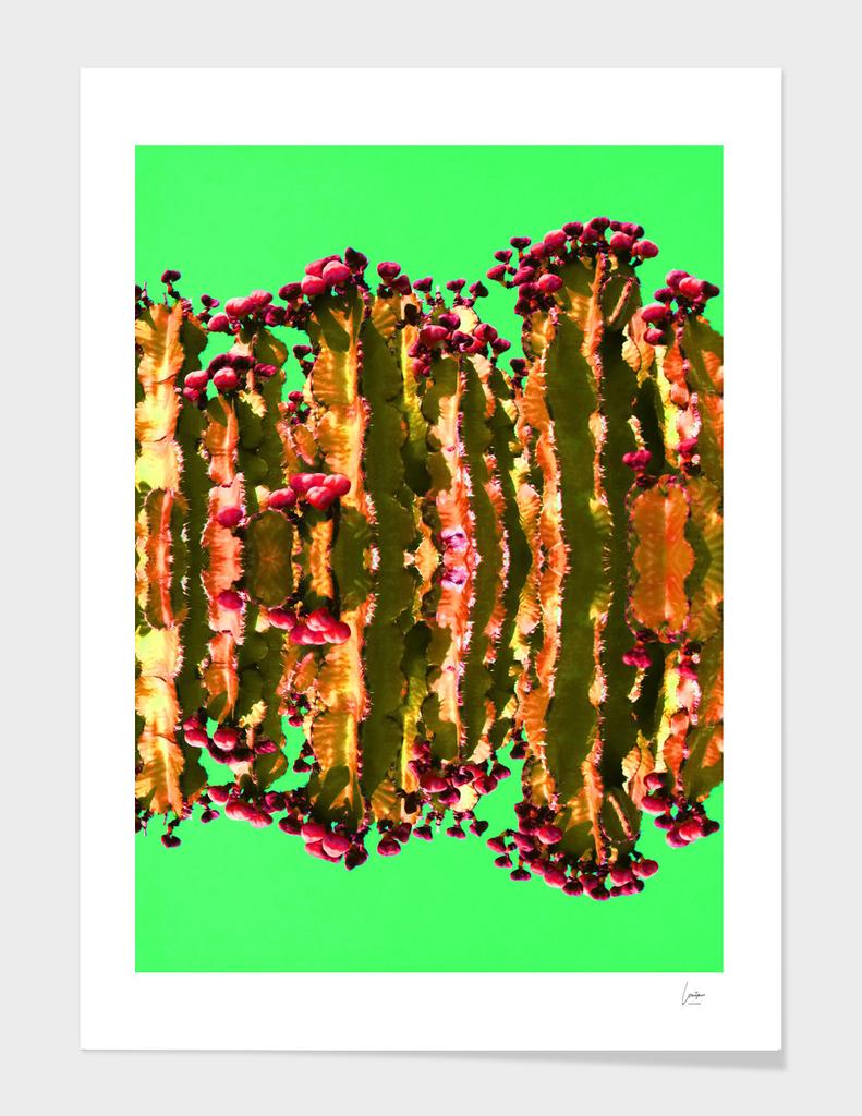 Citrus Cactus Pop Art