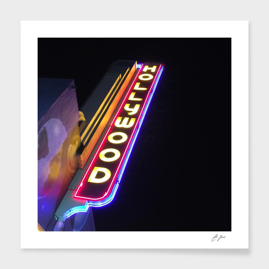 instaPIX: Hollywood Neon