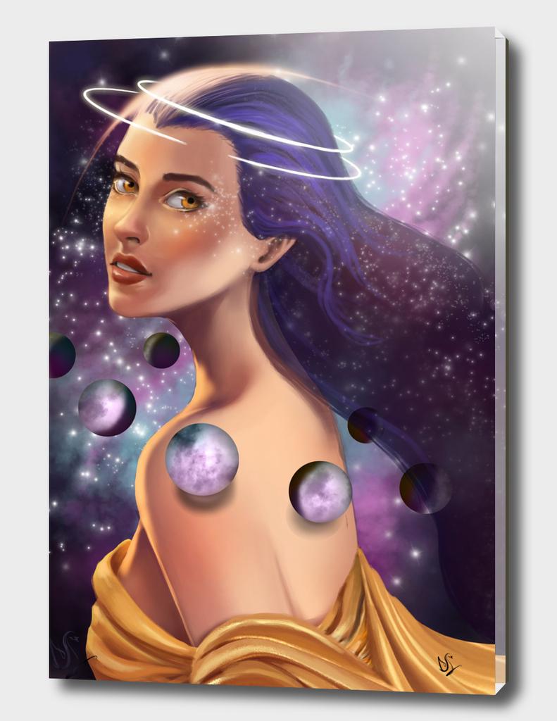 Allune, the Moon Goddess