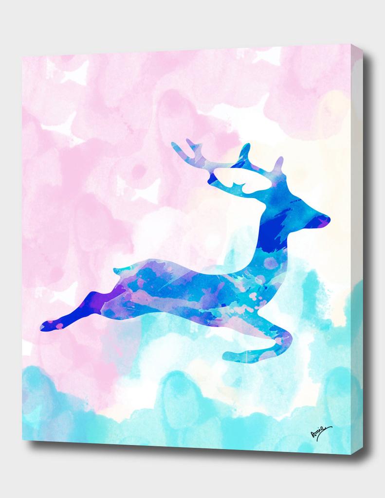 Abstract Deer X