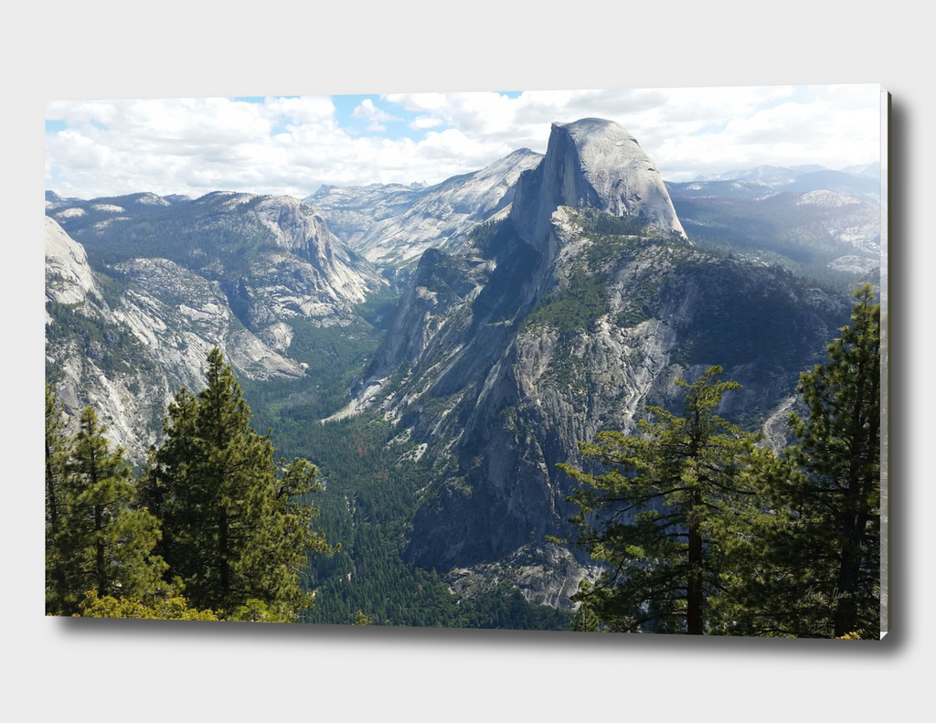 View of Half Dome