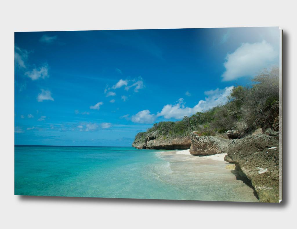 "Private Caribbean Beach ""Boka Hulu"""