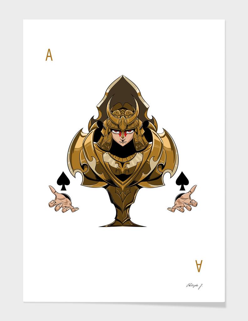 armored spade ace