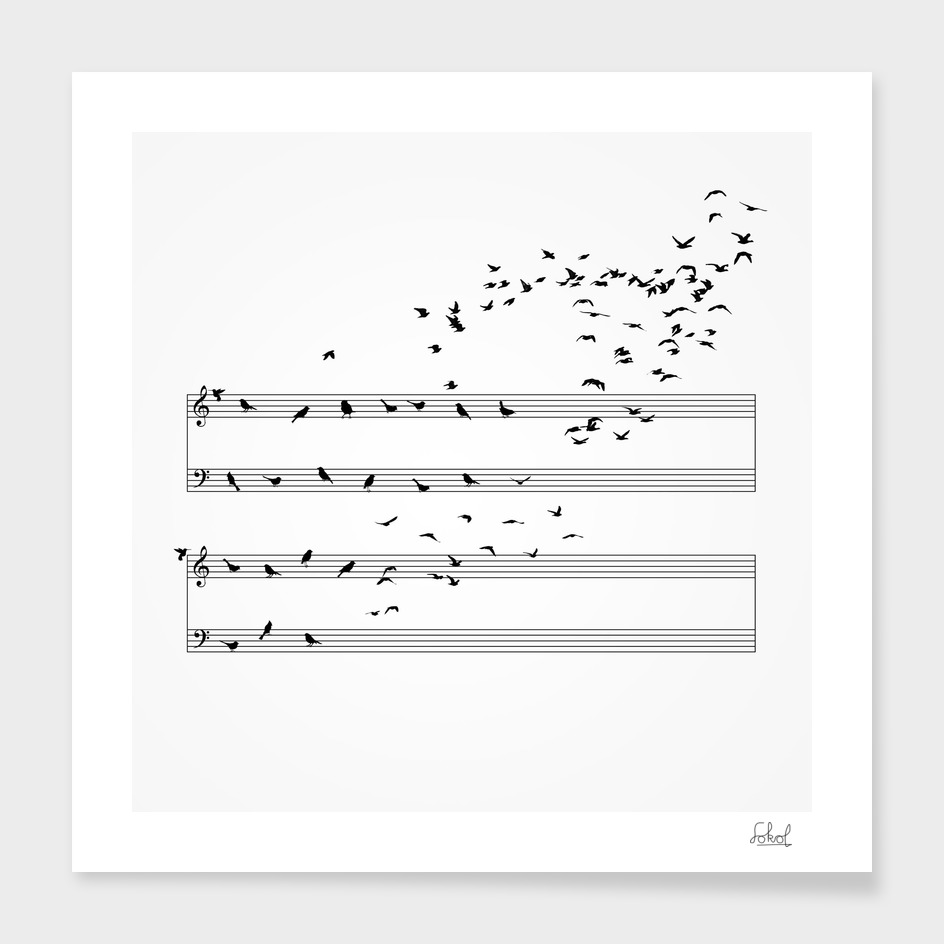 Natural Musical Notes