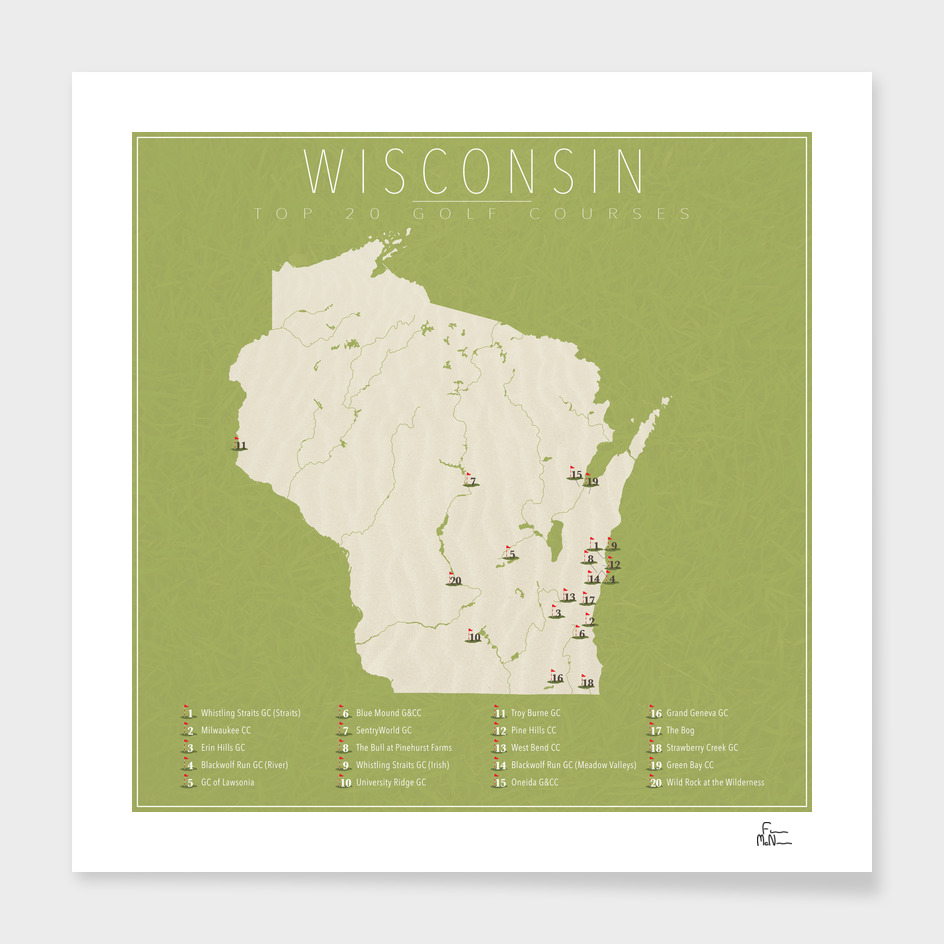 Wisconsin Golf Courses