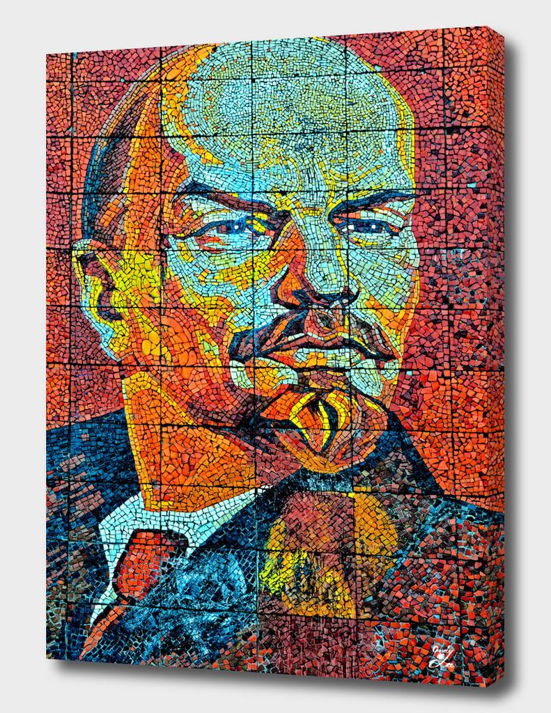 V. I. Ulyanov. Mosaic. Sochi Park.