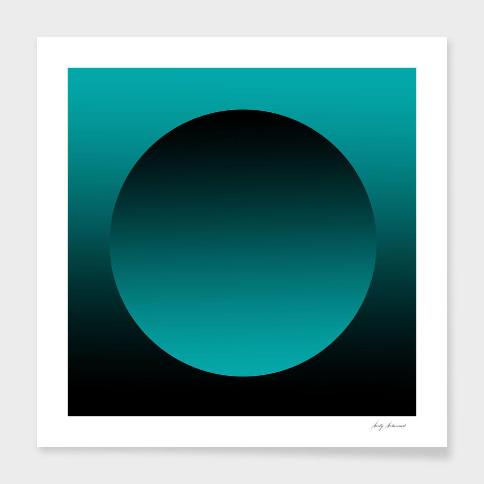 Circle tuquoise